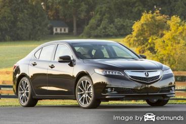Insurance quote for Acura TLX in Philadelphia
