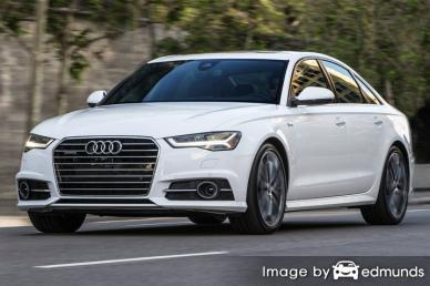 Insurance rates Audi A6 in Philadelphia
