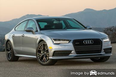 Insurance rates Audi A7 in Philadelphia