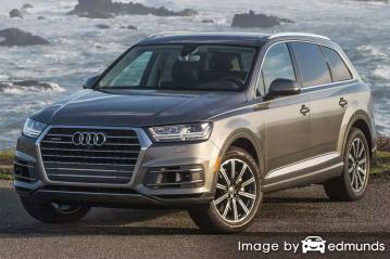 Insurance quote for Audi Q7 in Philadelphia