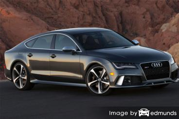 Insurance quote for Audi RS7 in Philadelphia