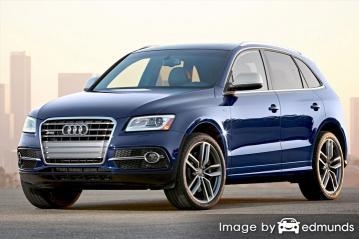 Insurance quote for Audi SQ5 in Philadelphia