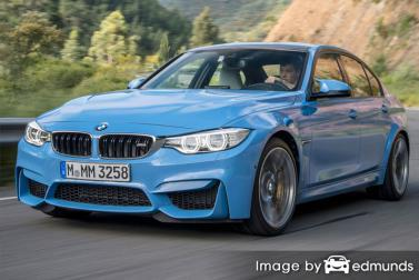 Insurance quote for BMW M3 in Philadelphia