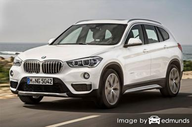 Insurance rates BMW X1 in Philadelphia