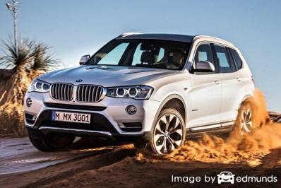 Insurance quote for BMW X3 in Philadelphia