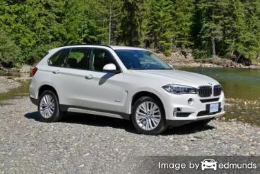 Insurance rates BMW X5 in Philadelphia