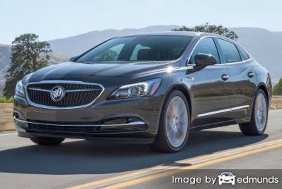 Insurance rates Buick LaCrosse in Philadelphia