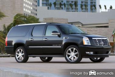 Insurance for Cadillac Escalade ESV