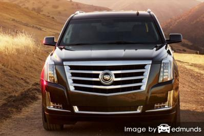 Insurance quote for Cadillac Escalade in Philadelphia