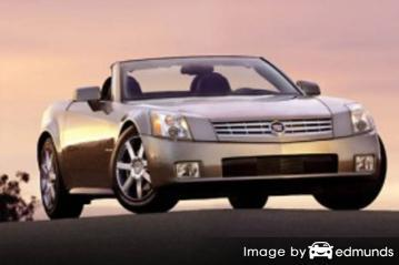 Insurance rates Cadillac XLR in Philadelphia