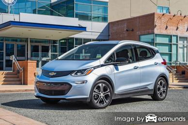 Insurance rates Chevy Bolt in Philadelphia