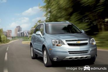 Insurance quote for Chevy Captiva Sport in Philadelphia