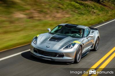 Insurance quote for Chevy Corvette in Philadelphia