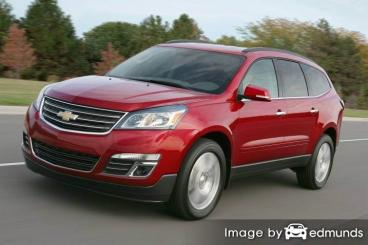 Insurance rates Chevy Traverse in Philadelphia