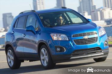Insurance quote for Chevy Trax in Philadelphia