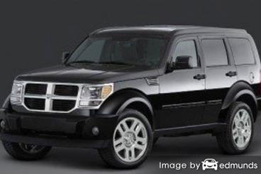 Insurance rates Dodge Nitro in Philadelphia