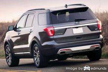 Insurance quote for Ford Explorer in Philadelphia