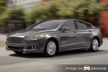 Discount Ford Fusion Hybrid insurance