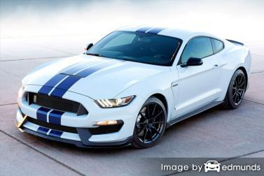Insurance rates Ford Shelby GT350 in Philadelphia