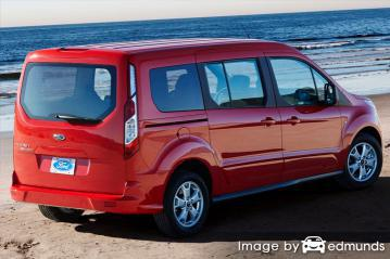 Insurance quote for Ford Transit Connect in Philadelphia
