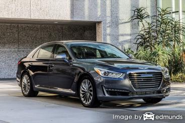 Insurance quote for Hyundai G90 in Philadelphia