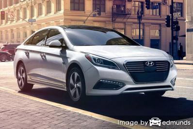 Insurance rates Hyundai Sonata Hybrid in Philadelphia