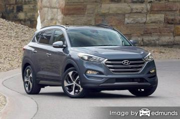 Insurance rates Hyundai Tucson in Philadelphia
