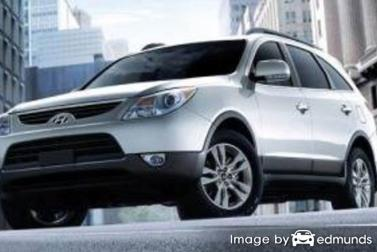 Insurance rates Hyundai Veracruz in Philadelphia