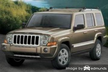 Insurance quote for Jeep Commander in Philadelphia