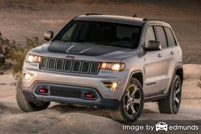 Insurance quote for Jeep Grand Cherokee in Philadelphia