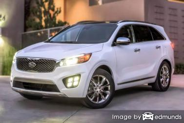 Insurance quote for Kia Sorento in Philadelphia