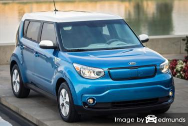 Insurance quote for Kia Soul EV in Philadelphia