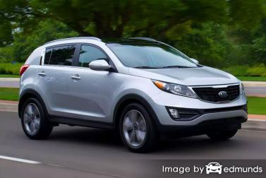 Insurance rates Kia Sportage in Philadelphia
