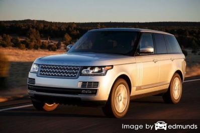 Insurance quote for Land Rover Range Rover in Philadelphia