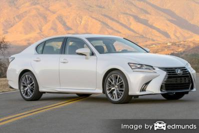 Insurance rates Lexus GS 350 in Philadelphia