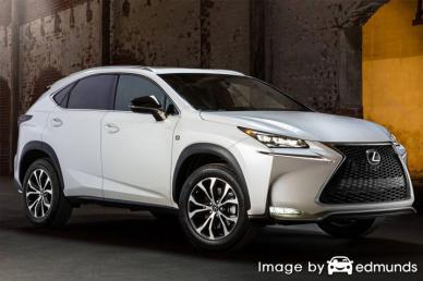 Insurance quote for Lexus NX 200t in Philadelphia
