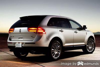 Insurance quote for Lincoln MKX in Philadelphia
