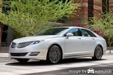 Insurance rates Lincoln MKZ in Philadelphia