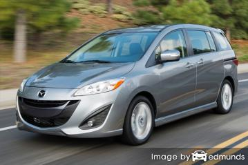 Insurance quote for Mazda 5 in Philadelphia