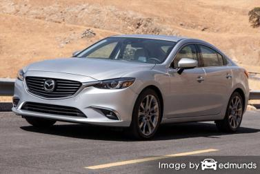Insurance rates Mazda 6 in Philadelphia