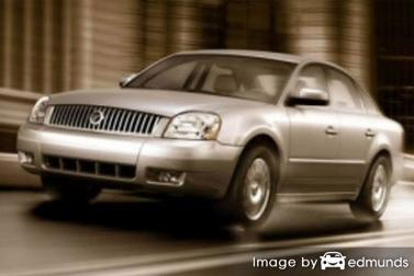 Discount Mercury Montego insurance