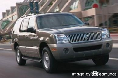 Insurance rates Mercury Mountaineer in Philadelphia
