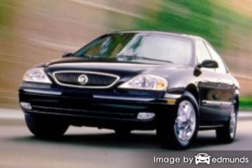 Insurance for Mercury Sable