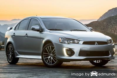Insurance quote for Mitsubishi Lancer in Philadelphia