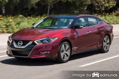 Insurance rates Nissan Maxima in Philadelphia