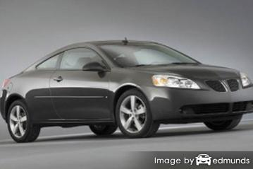 Insurance rates Pontiac G6 in Philadelphia
