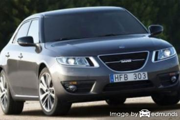 Insurance quote for Saab 9-5 in Philadelphia