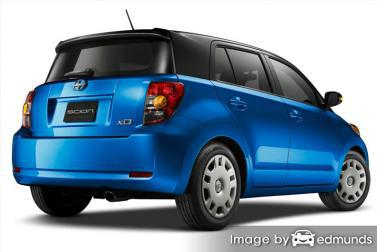 Insurance rates Scion xD in Philadelphia