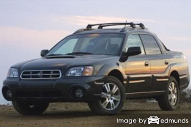 Insurance quote for Subaru Baja in Philadelphia