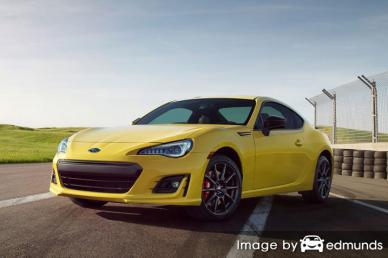 Insurance rates Subaru BRZ in Philadelphia